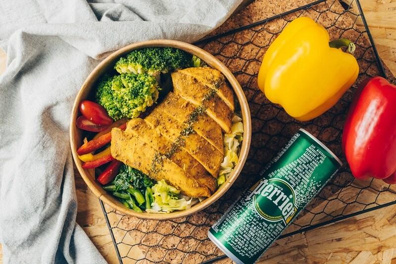 低碳雞肉沙拉